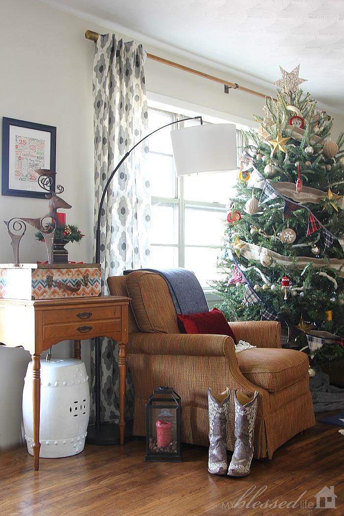 Christmas Home Tour 2014   MyBlessedLife.net