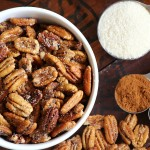 Easy Toasted Pecans | Sweet & Savory