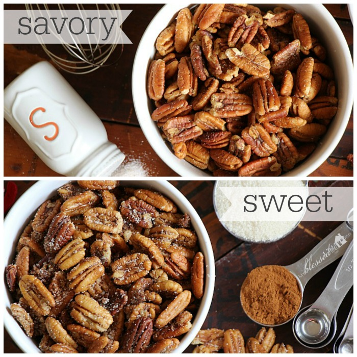 Toasted Pecans Collage
