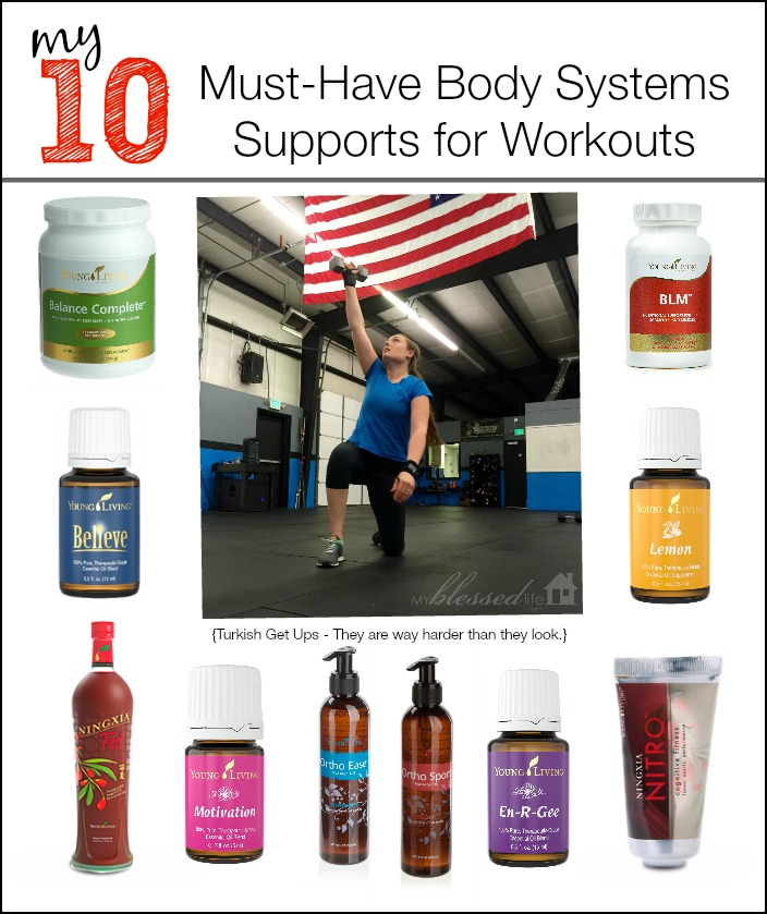 10 Must Have Body Systems Supports for Workouts | MyBlessedLife.net