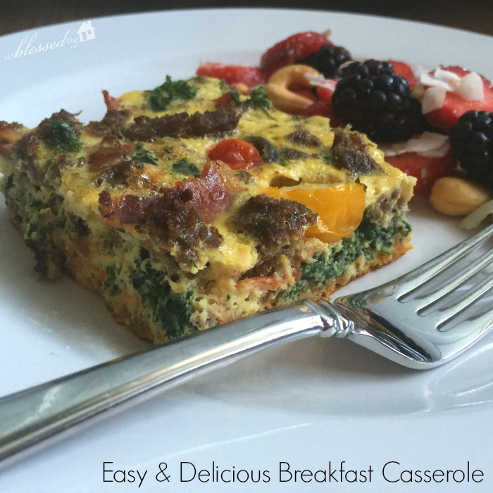 Easy Breakfast Casserole | MyBlessedLife.net