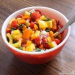 Veggie Chop Salad Square