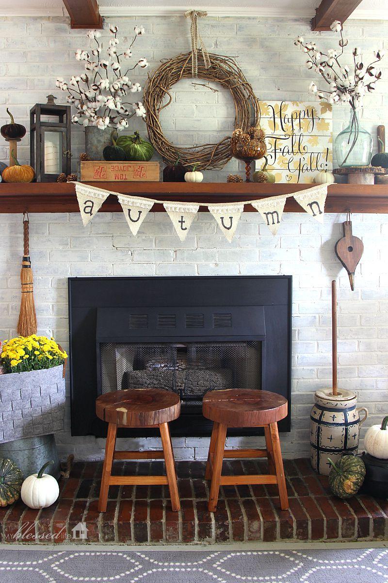 20 Inspiring Diy Rustic Fall Decor Ideas The Crafting Nook