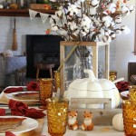 5 Simple Tips to Set A Fall Table