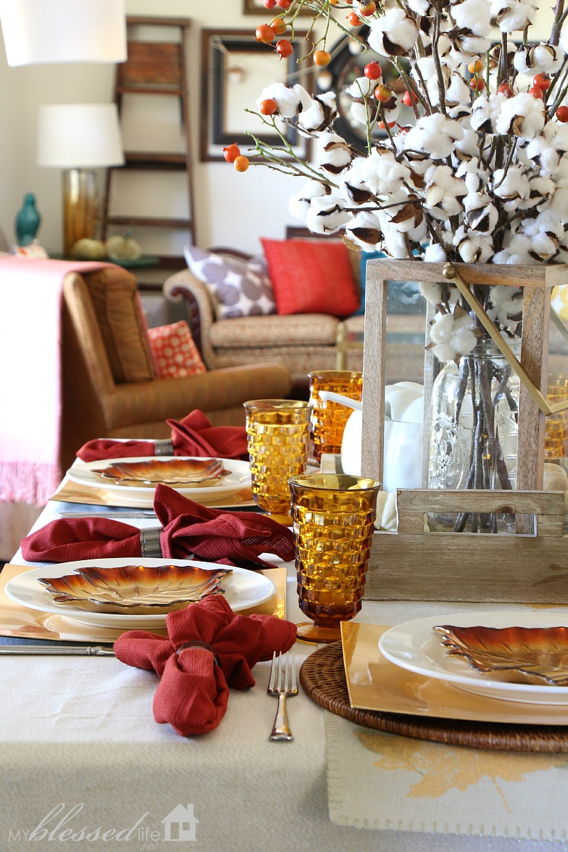 5 Simple Tips to Set A Fall Table | MyBlessedLife.net