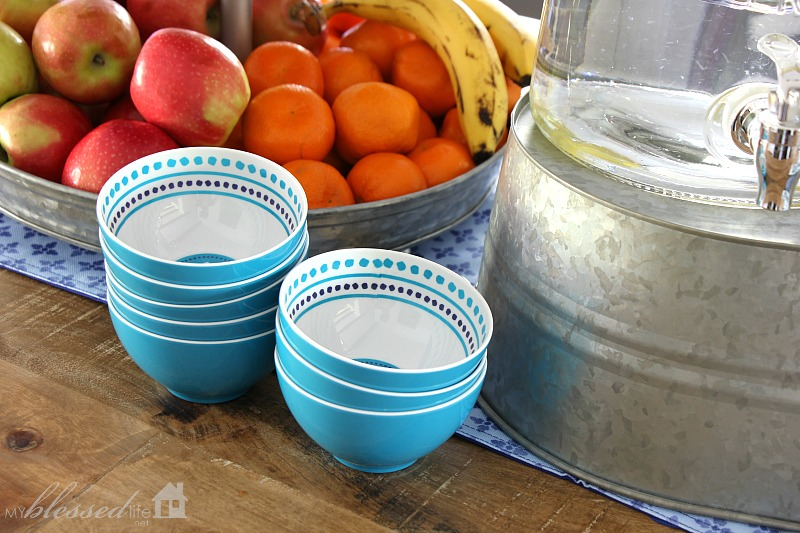 Easy Drink And Snack Station | MyBlessedLife.net
