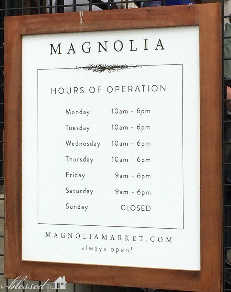 Magnolia Market Day Trip  #fixerupper | MyBlessedLife.net