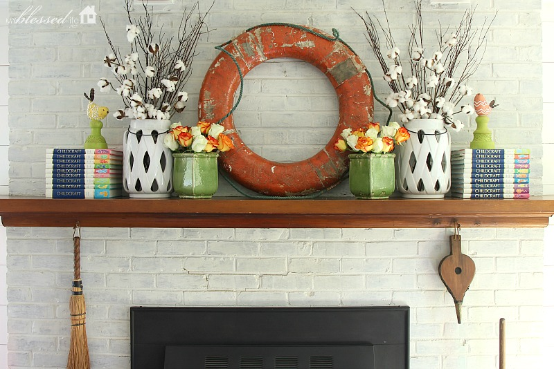Summer Mantel 2016  |  MyBlessedLife.net