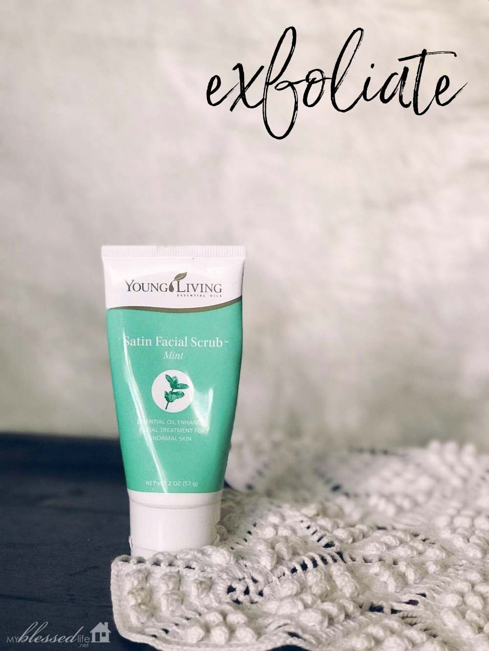 Opinion you young living essential oil mint facial scrub